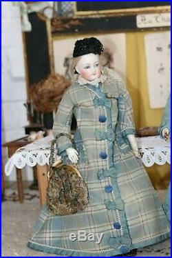 Big An antqiue All Original Francois Gaultier Poupee with Chapeu Chic set