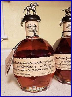 Blanton's Original Single Barrel Bourbon 750ml FULL set of 8 ALL LETTERS