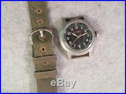 Bulova Navigators Type A17a Watch Mil-w-6433a 10bnch All Original Hack Set