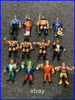 COMPLETE WWF Hasbro Figure Set ALL MINT/NEAR MT with ALL ORIGINAL ACCESSORIES