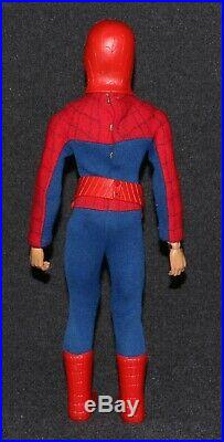 Captain Action Ideal 1967 Set Spider-Man Spiderman ALL ORIGINAL 95% Compl C9
