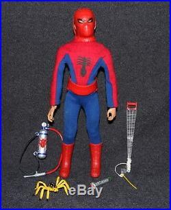 Captain Action Ideal 1967 Set Spider-Man Spiderman ALL ORIGINAL C9++
