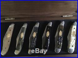 Case xx Peanut Collection 1992 6 Knives All Mint 1 Of 500 Sets