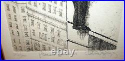 Charles Bragg Rare Set Of 4 Legal Suite All Signed & Number 126/300 Frame