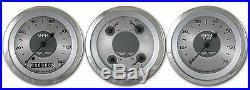 Classic instruments all american original series 3 gauge set aw03src speedo quad