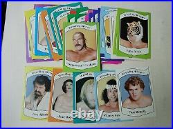 Clean 1983 36 Card Wrestling All Stars Complete Set Graham Snuka Studd Albano