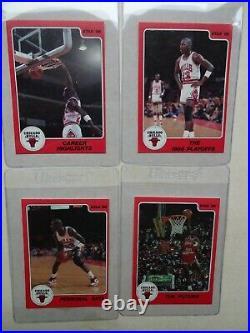 Clean Complete 10 Card 1986 Star Michael Jordan Set Future Roy All Star
