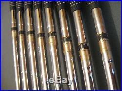 Cleveland Tecu-15 Becu Beryllium Copper Iron Set 3-pw S400 All Original! Nice