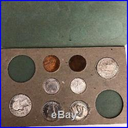 Complete, All Original 1948- 23 Piece Mint Set, Original Cardboard/paper Holders