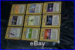 Complete Full Original Base Set All # 102/102 Pokemon Trading Cards TCG Game