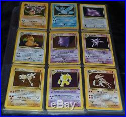 Complete Full Original Fossil Set All # 62/62 Pokemon Trading Cards TCG Game