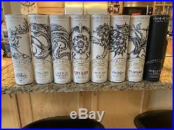 Complete Game Of Thrones Scotch All Houses And Nights Watch Set Limited Edit