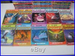 Complete Lot All Goosebumps 1-62 Original Apple Covers + Bonus Books + CD Set