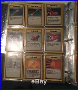 Complete Original Base Set Pokemon Cards All 102/102 In Exc/near Mint Charizard