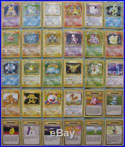 Complete Original Pokemon Base Set 102/102 Cards All Holos Rares NM-MT CHARIZARD