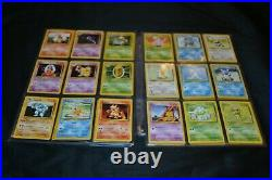 Complete Original Unlimited Base Set All 102/102 Pokemon Trading Cards TCG WOTC