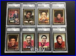 Complete Signed Heisman Collection Set Series 1-3 50 Signed Cards All PSA/DNA