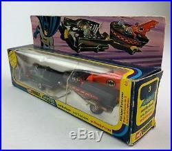 Corgi Batman Gift Set 3 Batmobile and Batboat 1966 All Original