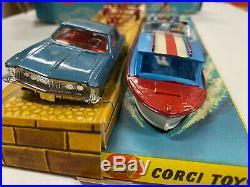 Corgi Gift Set 31 Buick Riviera Gift Set all original and complete NMIB
