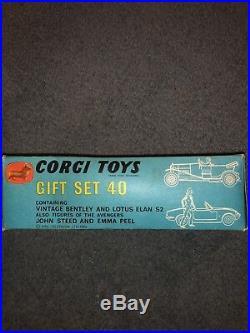 Corgi Gift Set GS 40 The Avengers all Original Excellent Condition