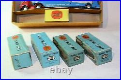 Corgi Major Gift Set 1, Carrimore Transporter & 4 Cars, VGC, All Original, Boxed