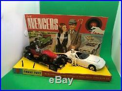 Corgi Toys Gift Set 40 A Avengers set Mint Boxed all original and superrare