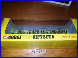 Corgi Toys Gift Set 8 Lions of Longleat With All Original Parts including Rifle