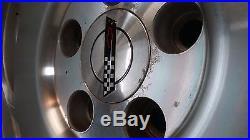 Corvette Sawblade Wheels Set of 4 ALL 8.5 Genuine OEM ORIGINAL 93-96