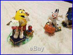 Danbury M&M 12 Month Vintage Figurine Set Collection set All 12 Collectibles
