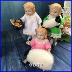Dionne quintuplet Mignonnette 6 Reprint 1989 Limited 120 set All bisque doll /8
