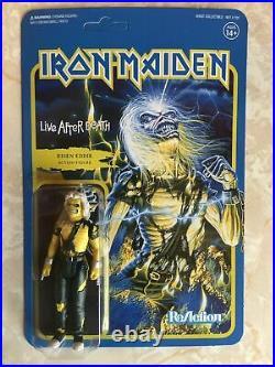 Eddie Iron Maiden WAVE 2 Super 7 ReAction 3.75 Figures All 7 COMPLETE SET