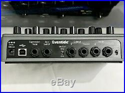 Eventide Time Factor Delay With Original Box and ALL quick set-up guides, books