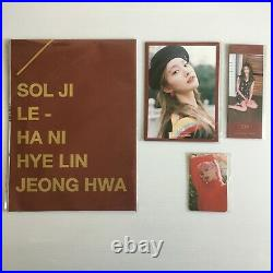 Exid'whoz That Girl! Exid!' All Member Signed Sealed Photobook + Inserts Set