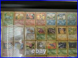 FRAMED ALL HOLOS Pokemon COMPLETE Original 151/150 Full Set Base/Jungle/Fossil