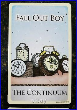 Fall Out Boy RARE VINTAGE 2007 Tarot Cards SET OF ALL 5 Infinity On High with CD