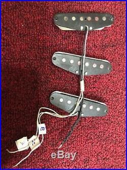 Fender Stratocaster 1973 Black Bottom Pickups Set All Original Rare