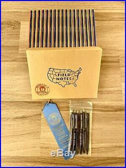 Field Notes RARE County Fair Box Set All 50 States + Original Blue Ribbon