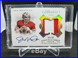 Flawless Distinguished Patch Autograph Complete Set. (All 22 Cards From The Set)