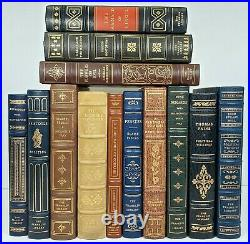 Franklin Library 100 Greatest Books Of All Time COMPLETE Leather Set 100 Volumes