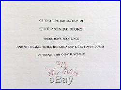 Fred Astaire Story ORIGINAL SIGNED NUMBERED BLUE 4LP SET, ALL ARTWORK