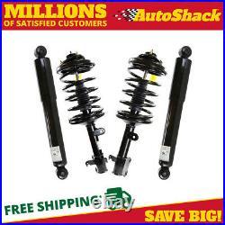 Front Complete Strut and Rear Shock Set for 2003-2008 Honda Pilot 2001 2002 MDX