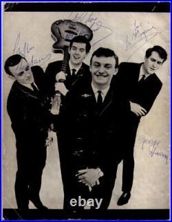 Full Set Of Beatles Autographs All Signed By John Lennon Concert Programme 1963