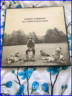 GEORGE HARRISONALL THINGS MUST PASSBOXED SET19701st PRESSSTCH 1-639 POSTER