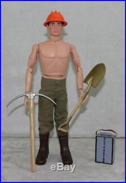 GI Joe 1964 1960s Figure Set Army Construction #7573 Demolition All Original