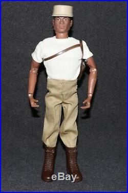 GI Joe 1964 1969 Figure Set Adventurer African American All Original High GradeB