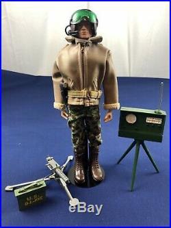 GI Joe 1964 Vintage RARE Tank Commander Set All Original Patent Pending Blond