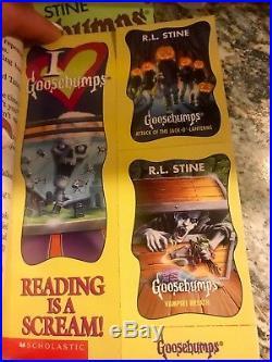 Goosebumps Complete Set (1-62) All Original Apple Covers + Scream Machine