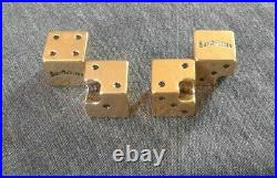 Grand Theft Auto San Andreas Original Dice-Shaped Gold Valve Covers Set (ALL 4)