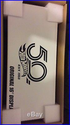 Hot Wheels RLC 50th Anniversary Original 16 Display Set Vintage Replica ALL 1