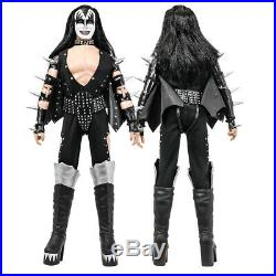 KISS 12 Inch Action Figures Alive Re-Issue Series Set of all 4